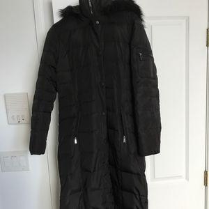 DKNY Down filled Long Winter Coat, Size S
